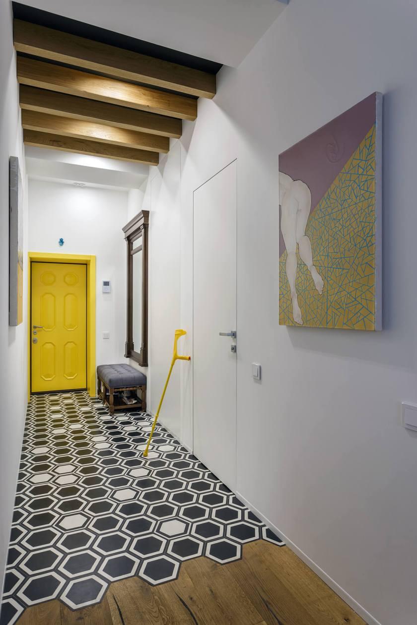 Lemon-yellow-door